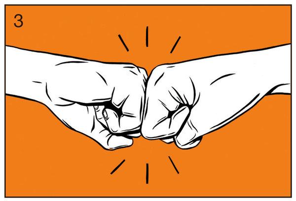 Fist bump the swamps of salesforce dagobah fist slide m4hsunfo